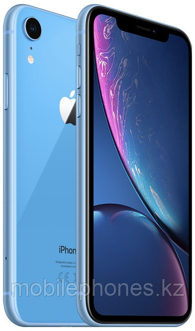 Смартфон iPhone XR 256Gb Синий 1SIM