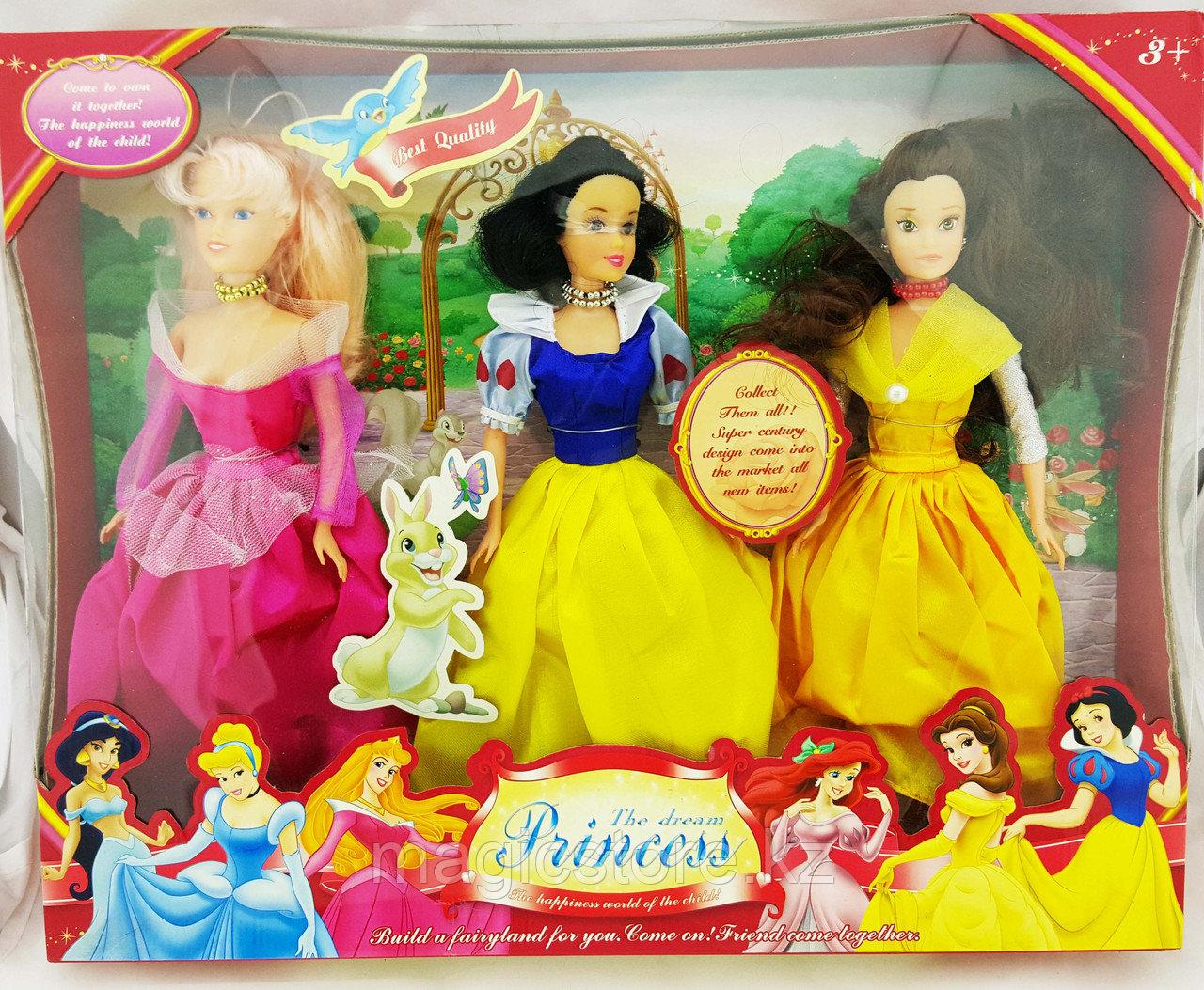 Кукла Disney The Dream Princess (набор из 3-ёх кукол) - фото 1