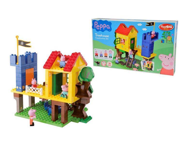 Конструктор дом на дереве Peppa Pig 94 детали 57077