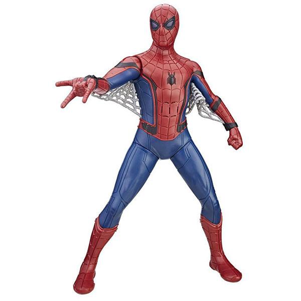 Игрушка Hasbro Человек-Паук (Spiderman) Фигурка человека-паука со световыми и звуковыми эффектами