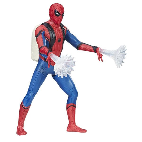 Игрушка Hasbro Человек-Паук (Spiderman) Фигурки человека-паука паутинный город 15 см