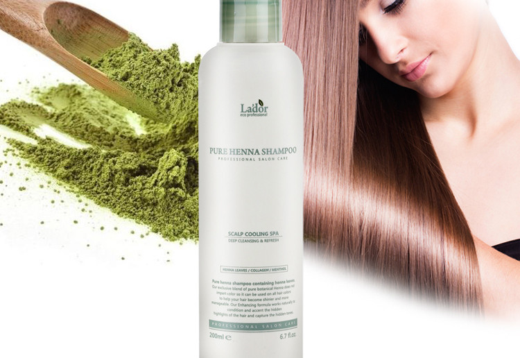 Lador Pure Henna Shampoo -  Шампунь для волос