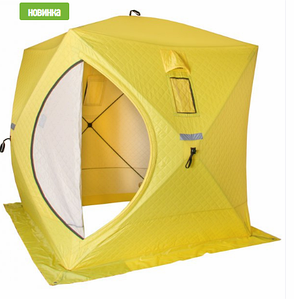 Палатка зимняя утепленная Куб 1,5×1,5 Helios