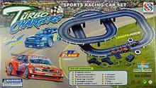 Трек от сети Turbo Chargers 2 машинки