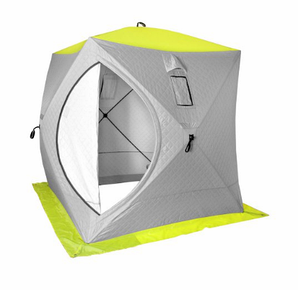 Палатка зимняя Куб утепленная 1,5×1,5 PREMIER