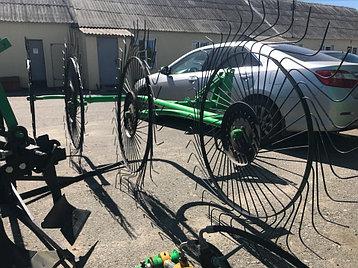 Турецкие грабли-ворошилки 4х колесные Agrolead, фото 2