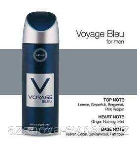 """Дезодорант парфюмированный """"Voyage Bleu"""""""