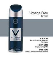 """Дезодорант парфюмированный """"Voyage Bleu"""", фото 1"""