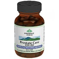 Prosta care Organic India, Натуральный препарат  для лечение простаты и профилактики, 60 капсул