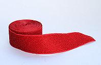 Лента эластичная, красная, 4 см