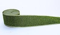 Лента эластичная, зеленая, 4 см