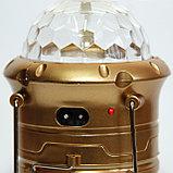 LED лампа фонарь цветомузыка, фото 3