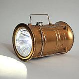 LED лампа фонарь цветомузыка, фото 5