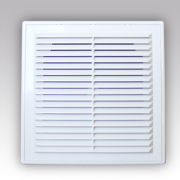Вентиляционная решетка в рамке (с сеткой) 210х210