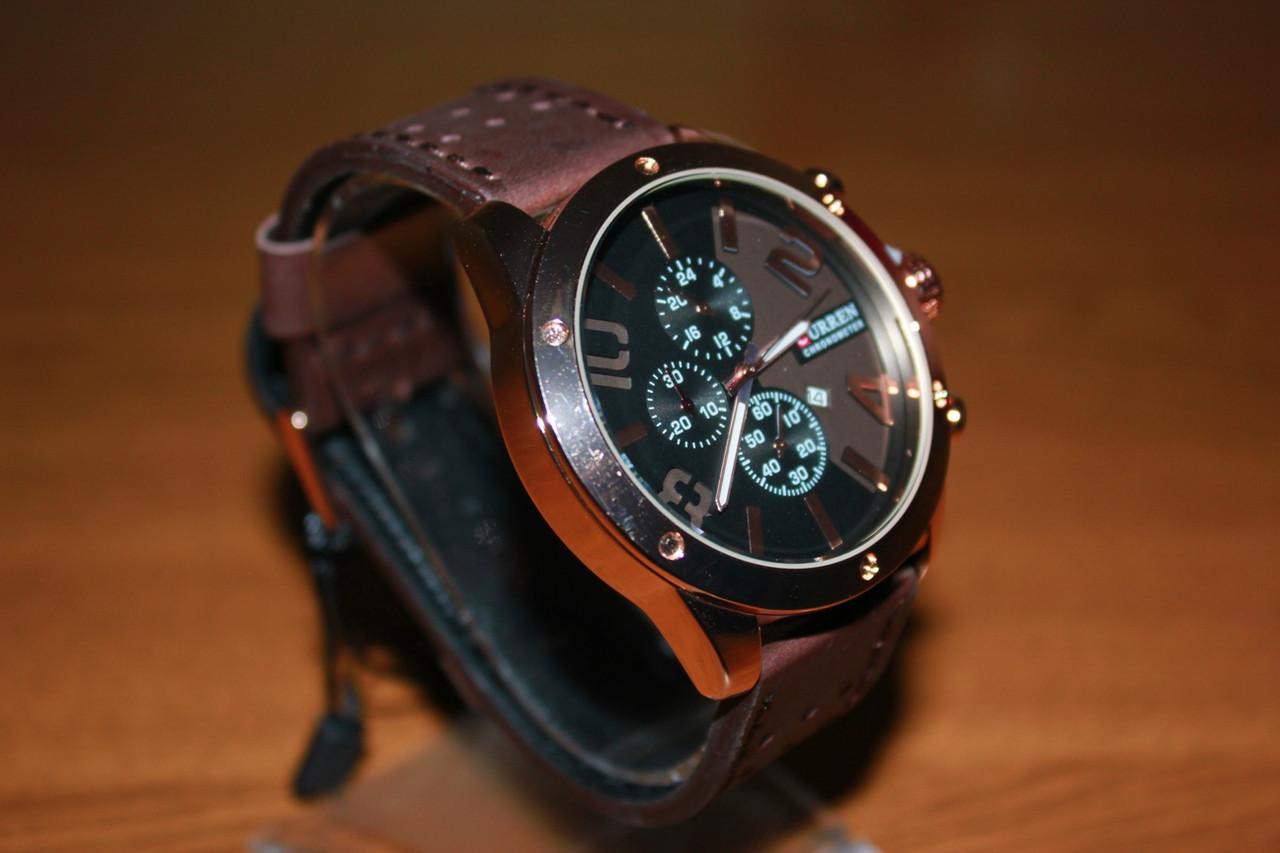 Наручные Кварцевые Часы Curren 8243. Рассрочка. Kaspi RED.