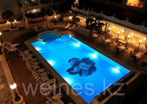 Освещение для бассейнов.