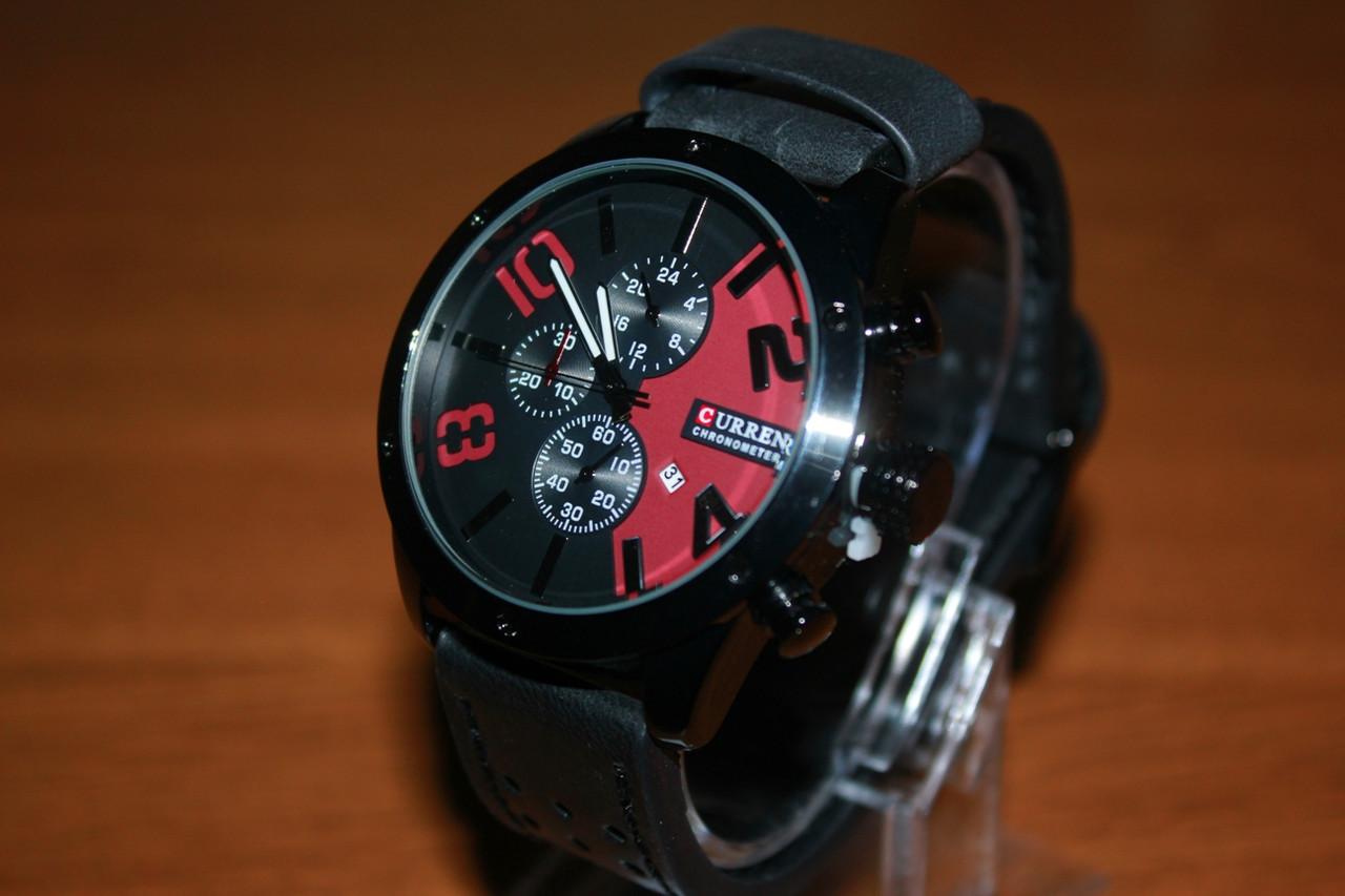 Кварцевые Наручные Часы Curren 8243. Рассрочка. Kaspi RED.