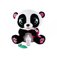 Панда Yoyo интерактивная, со звуковыми эффектами, шевелит глазами и ртом, можно его кормить и уложить спать..., фото 1