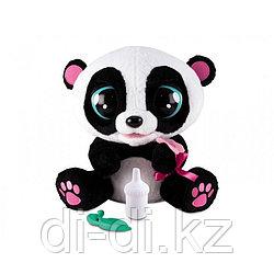 Панда Yoyo интерактивная, со звуковыми эффектами, шевелит глазами и ртом, можно его кормить и уложить спать...