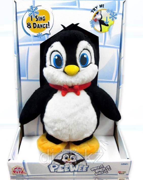 Пингвин Peewee интерактивный, со звуковыми эффектами, танцует если нажать на крыло