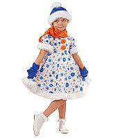 Карнавальный костюм Снеговик Снежана