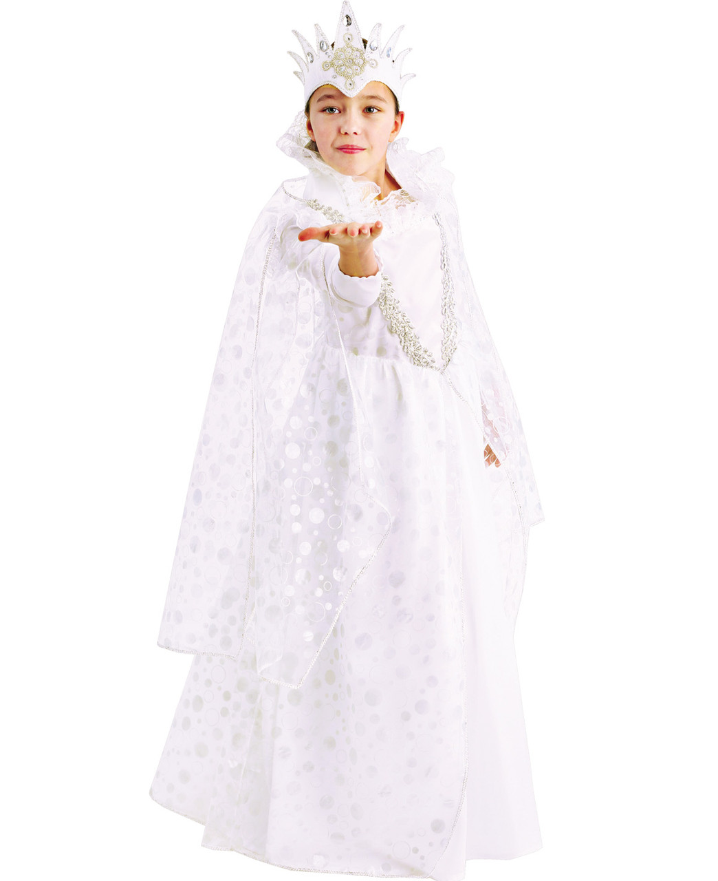 Карнавальный костюм Снежная королева, 122см