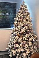 """Новогодняя искусственная елка со снегом премиум класса """"Альпийская"""" - 250 см"""