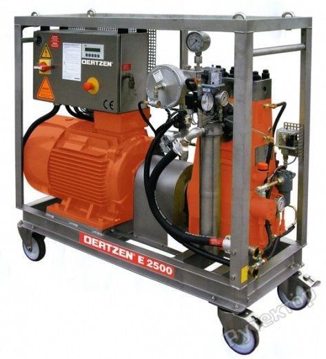 Моечный аппарат высокого давления с электрическим двигателем OERTZEN 2500E