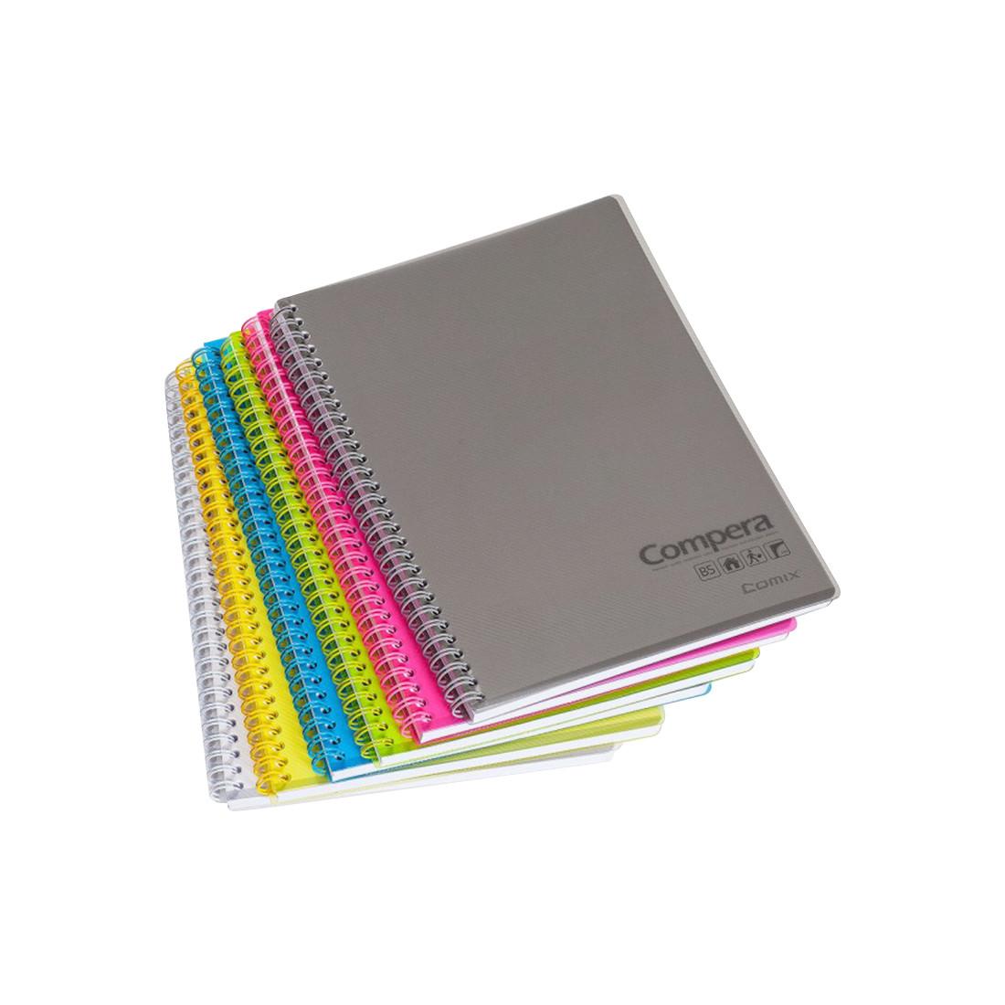 Блокнот B5 Comix CPB5801 80 л. серый