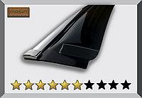Ветровики (дефлекторы окон) BMW X4 (F26) 2014+ с хромированным молдингом