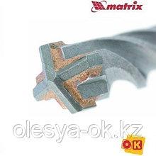 Бур по бетону 6 x 160 мм. MATRIX. 70636