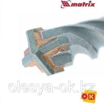 Бур по бетону 12 x 210 мм. MATRIX, фото 2