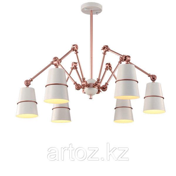 Подвесной светильник Spider 6 (rose-gold)