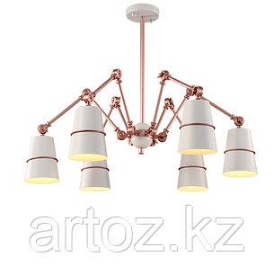Подвесной светильник Spider 6 (rose-gold), фото 2