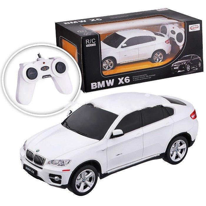 Rastar Радиоуправляемая машинка BMW X6 (белый)