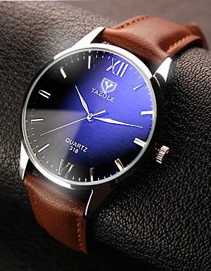 Классические часы Yazole 318
