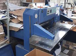 Бумагорезальная машина - SCHNEIDER SENATOR 92 E-LINE Б/У 2001 Г.В.