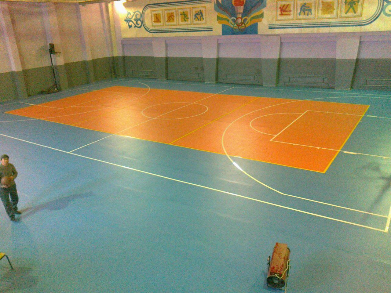 Спортивные ПВХ покрытия PRATO LINO