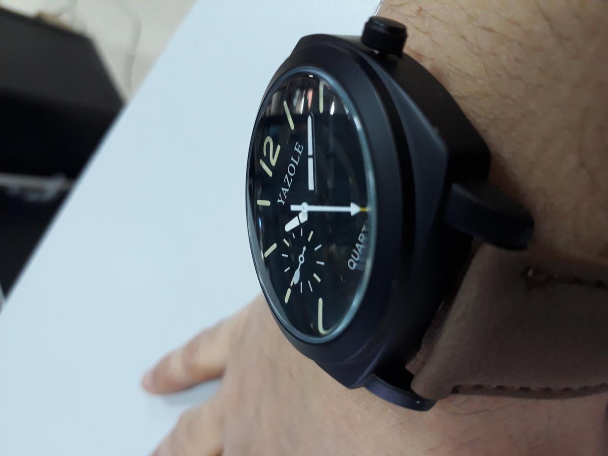 Стильные часы Yazole 339. Kaspi RED. Рассрочка. - фото 3