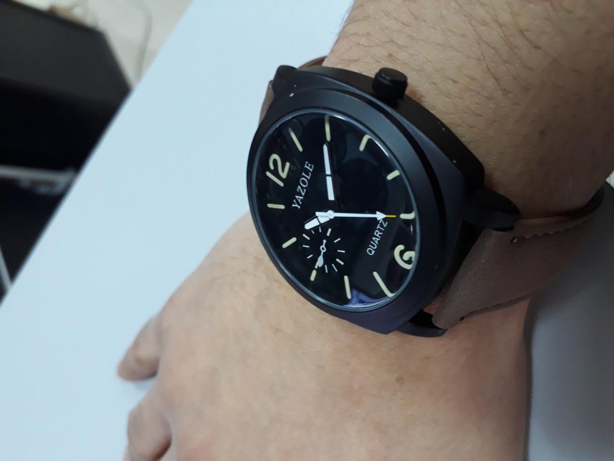 Стильные часы Yazole 339. Kaspi RED. Рассрочка. - фото 4