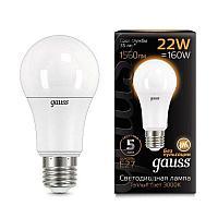 Лампа GAUSS LED A70  3000 K