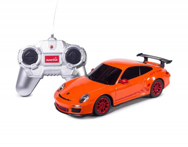 Rastar Радиоуправляемая машинка Porsche 911 GT3 RS (оранжевый)