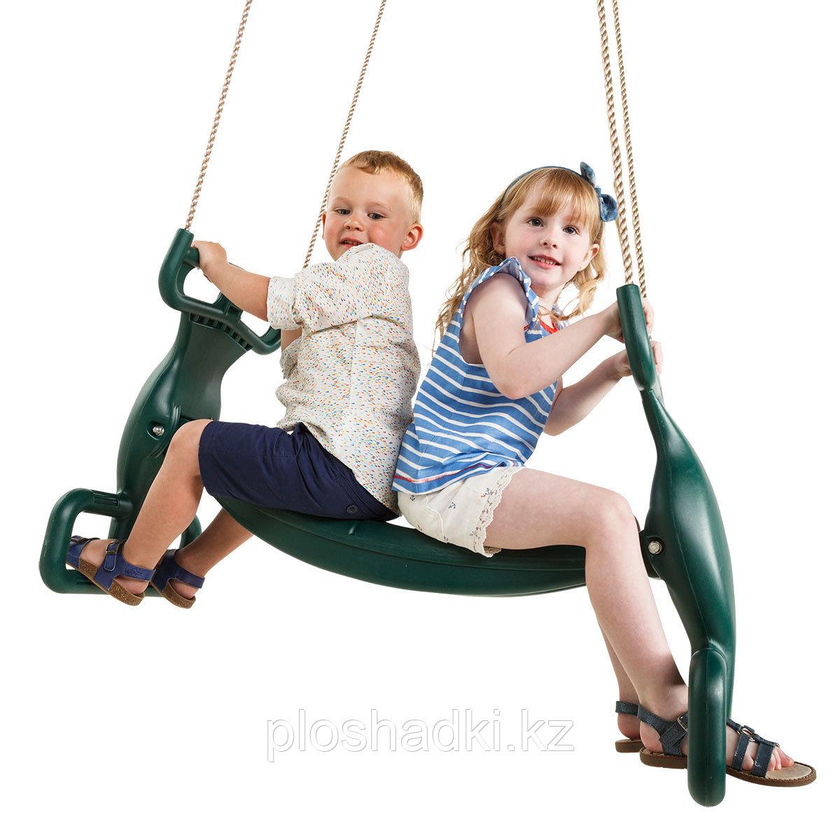 Качели Пластиковое двойное сиденье