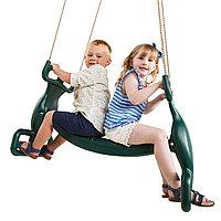 Качели Пластиковое двойное сиденье, фото 1