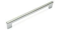 Мебельная ручка, хром, 128 мм