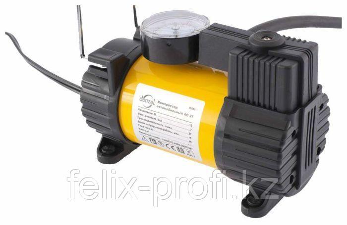 Компрессор автомобильный DС-20, 12 В, 7 атм., 35 л/мин // Denzel