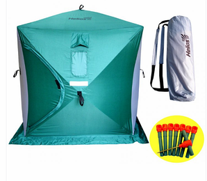 Палатка зимняя Куб 1,5×1,5 Helios