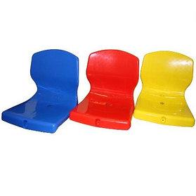 Пластиковые сиденья для трибун с низкой спинкой
