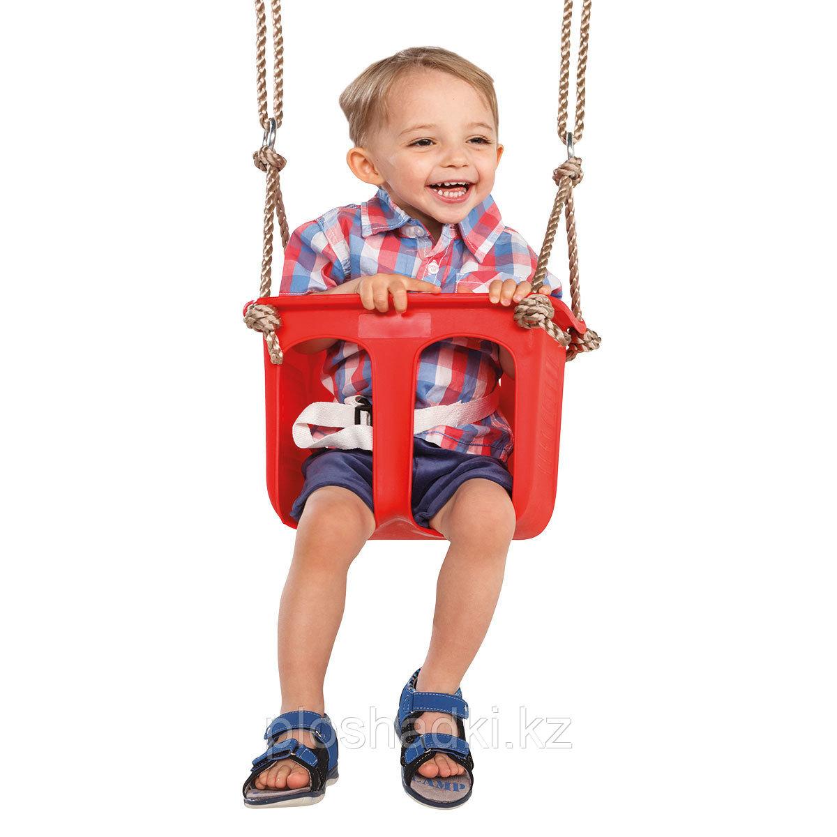 Качели детское сиденье жесткой формы