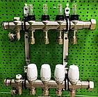 Коллектор SKYRIVER с росходомером DN16 4 выхода (1х4)